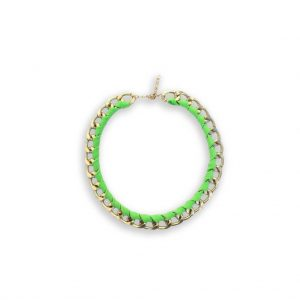 Colour statement ketting groen