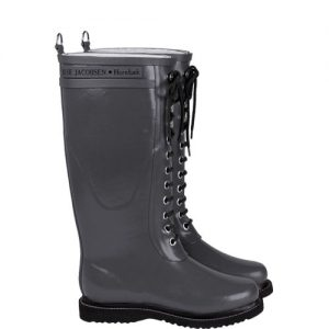 Long Rubberboot Grijs