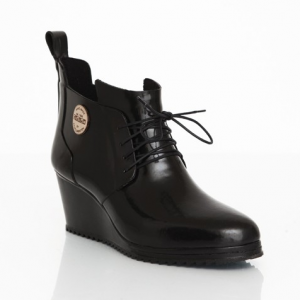 Lace-up Shoe Black