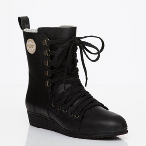 Lace-up Boot Black